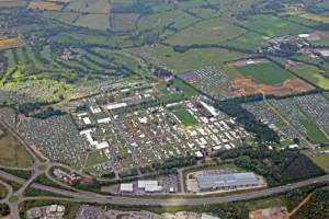Norfolk Showground aerial view